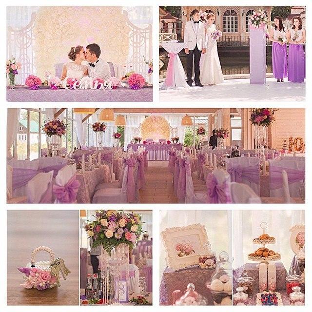 Предметы для декорирования свадьбы