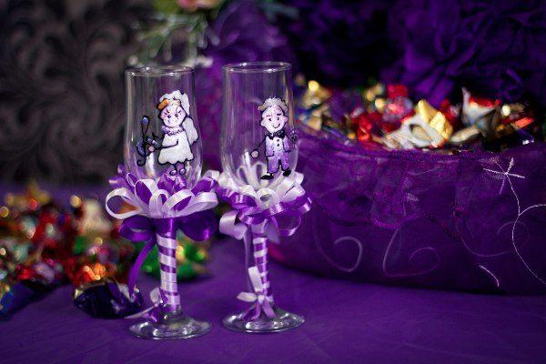 Фиолетовый цвет: как придать свадьбе особый характер?