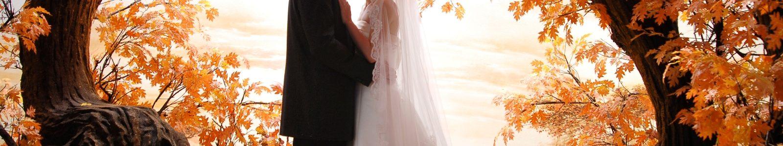 Осенняя свадьба – самое нарядное и красочное оформление
