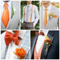 Особенности оформления оранжевой свадьбы – счастье цвета апельсина