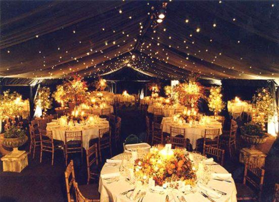 Особенности оформления шатров на свадьбу: что главное, а что – второстепенно?