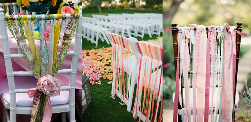 ретро стулья на свадьбу