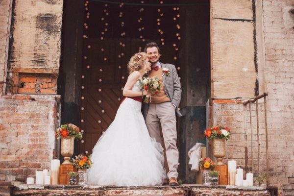 Бесконечная любовь в бесконечном пространстве – современная свадьба в стиле лофт