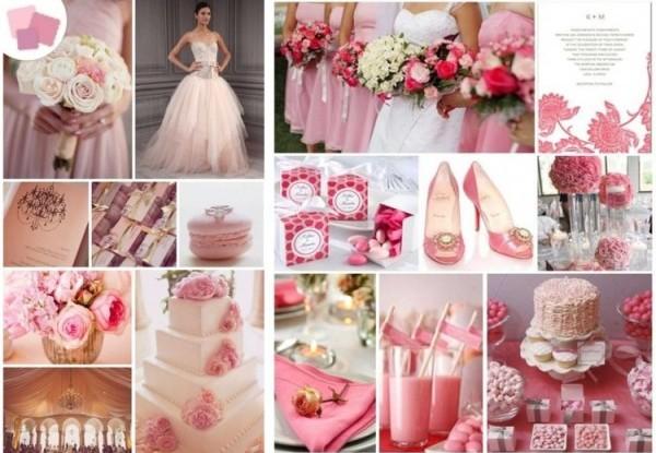 всё для розовой свадьбы
