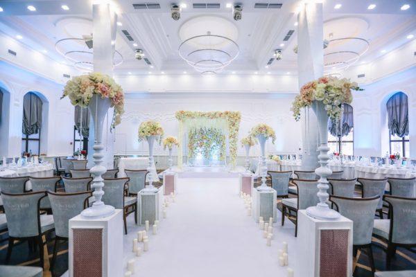 Оформление свадьбы в классическом стиле