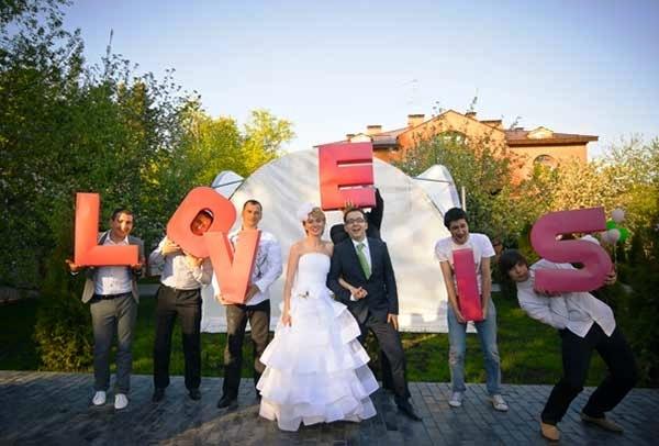 Свадьба в стиле лав из