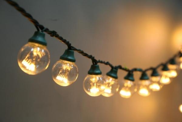 гирлянда из ламп