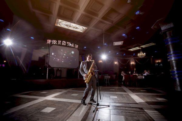 освещение сцены для выступления