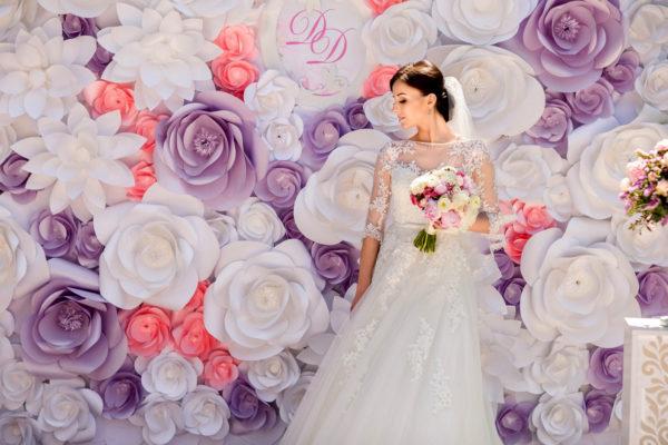 Особенности оформления свадьбы бумажными цветами