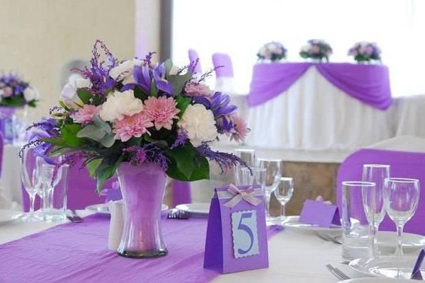 оформление стола для гостей