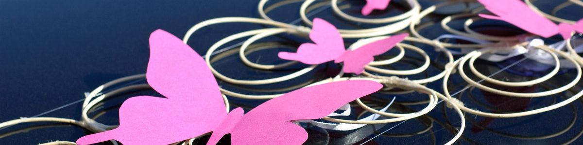 Нежное и красивое оформление свадьбы бабочками – воздушное признание в любви