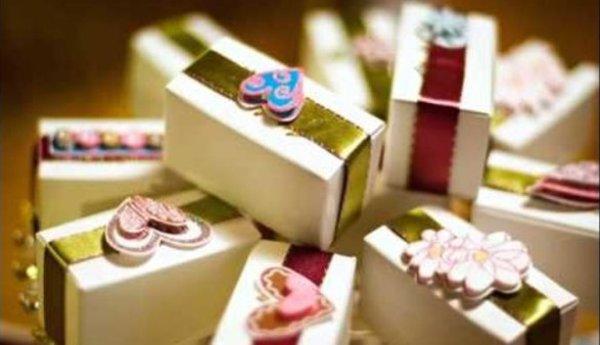подарки для гостей