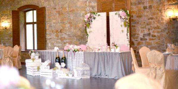 стиль прованс для свадьбы