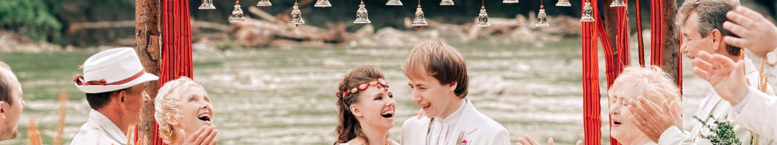Как оформить свадьбу в русском стиле
