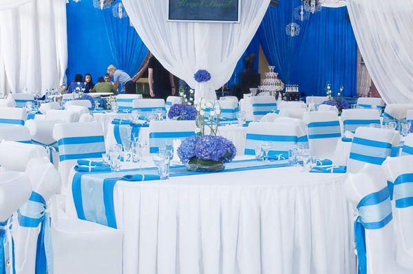 свадебный зал в морском стиле