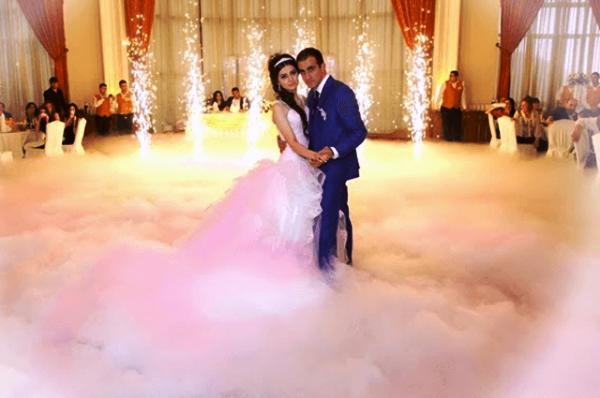 Тяжелый дым на свадьбу самара