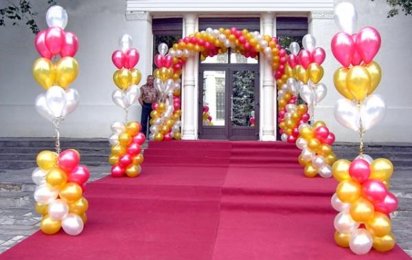 вход на свадебное торжество