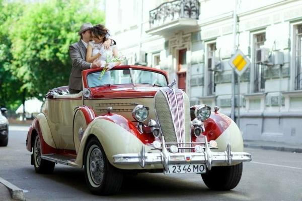 авто для свадьбы в чикагском стиле