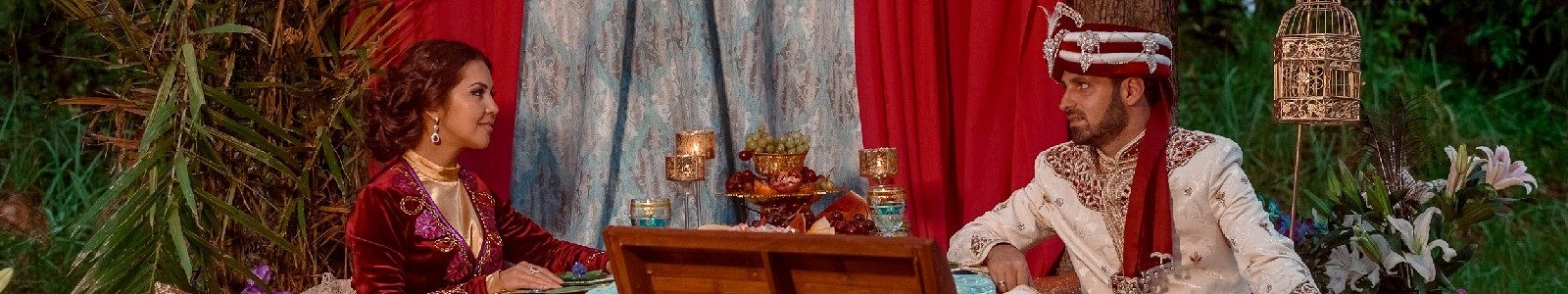 Восточная свадебная сказка: как оформить незабываемый праздник для Жасмин и Аладдина.