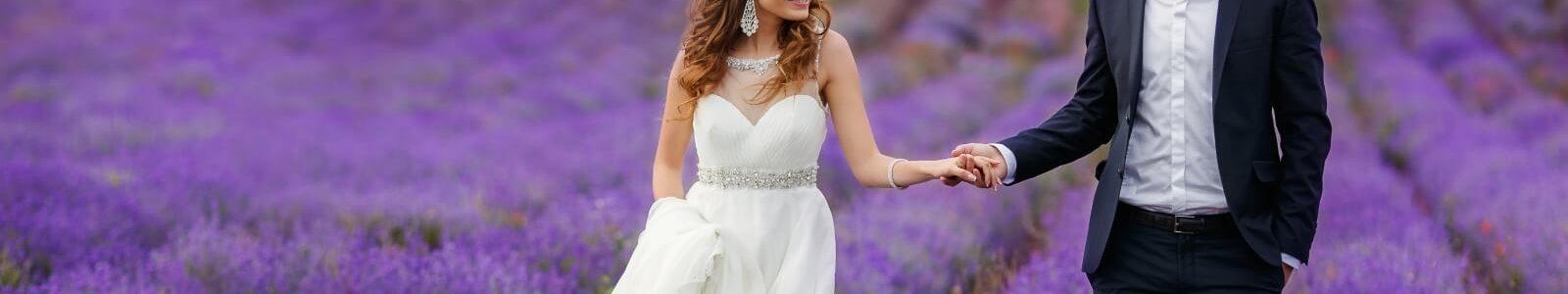 Нежный дурман Прованса: как оформить лавандовую свадьбу