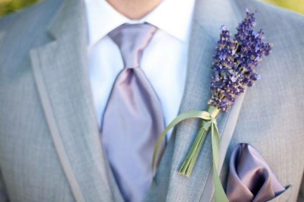 образ жениха для лавандовой свадьбы