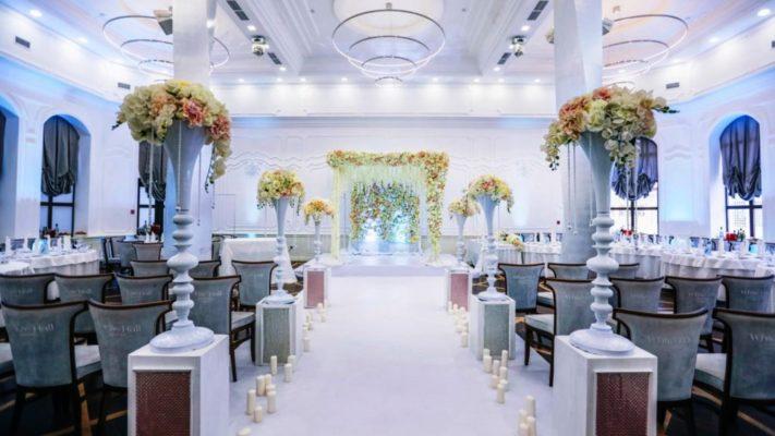 Свадьба в едином стиле