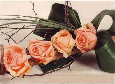 Букет из роз своими руками