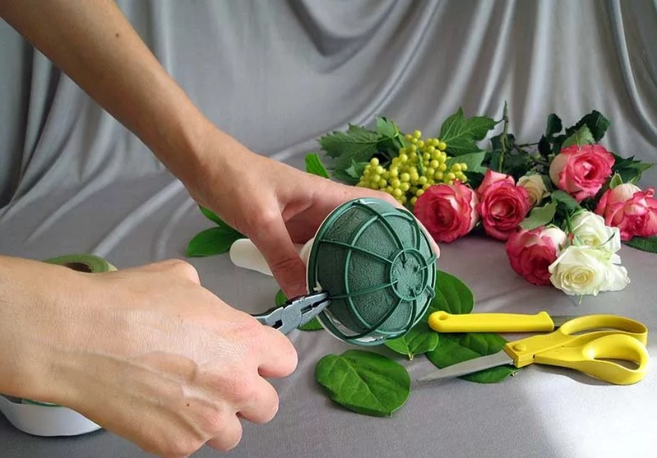 Как делают букет невесты